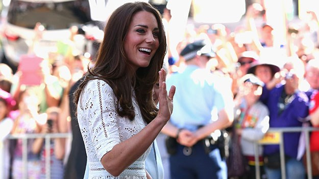 The Duchess of Cambridge at the Royal Easter Show.