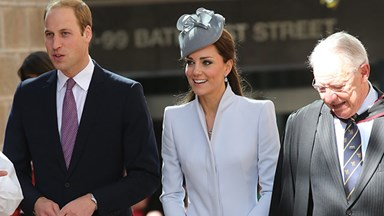 Prince William and Kate Middleton attend Easter Sunday Service