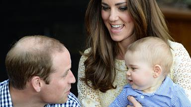 Prince William, Kate Middleton and Prince George's trip to the zoo