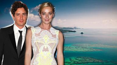 Asher Keddie gets married in Fiji