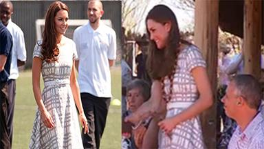 Kate Middleton recycles dress for Uluru trip