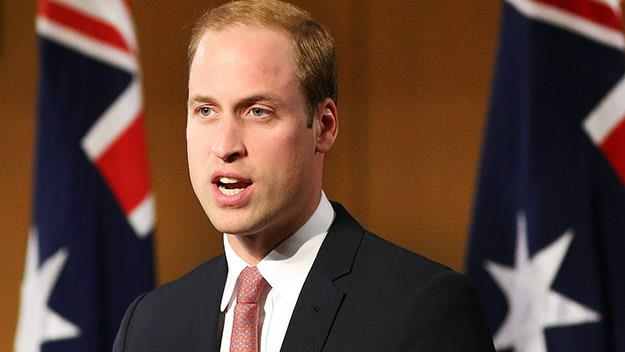 Prince William speaks at Parliament House, Canberra