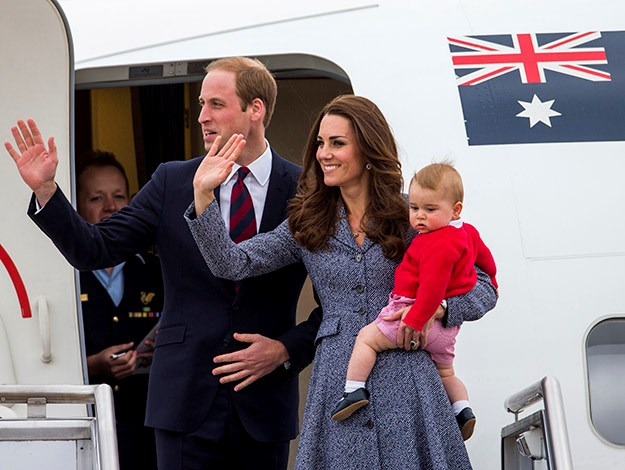 Kate and Wills took Prince George on his first royal tour in 2014.