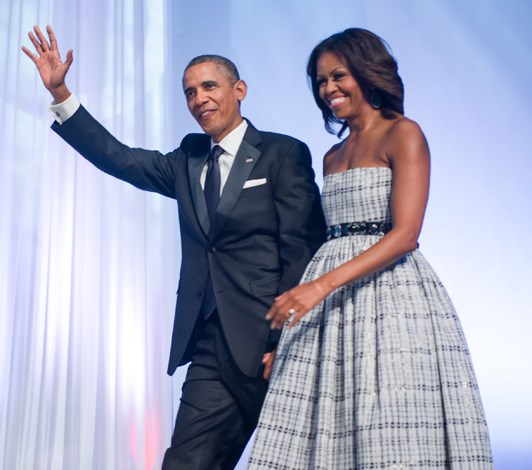 The couple at a black tie event at the Washington Convention Center in 2013.