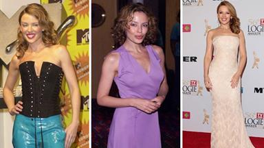 Kylie Minogue's fashion transformation