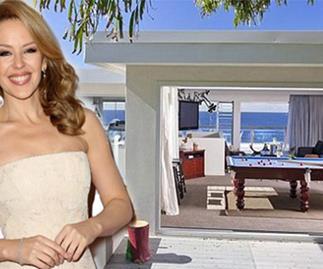 Kylie's Aussie mansion