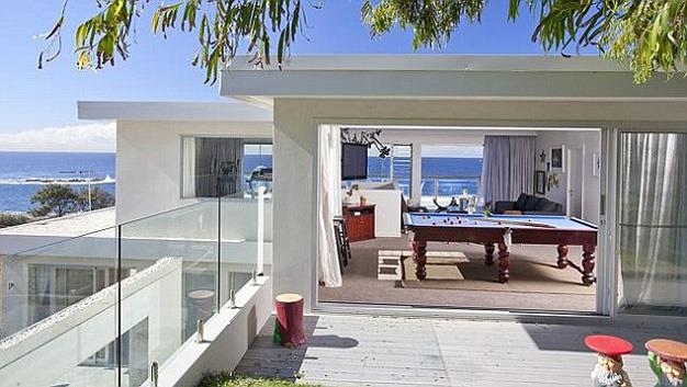 The luxurious abode is spacious with several open-plan living areas and ocean views, making it a perfect pad for the pop princess to entertain in.