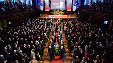 Neville Wran remembered at state funeral