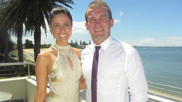 Nicole Fitzsimons and her boyfriend, Jamie