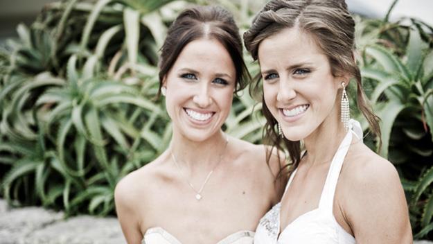 Nicole and Kate Fitzsimons.