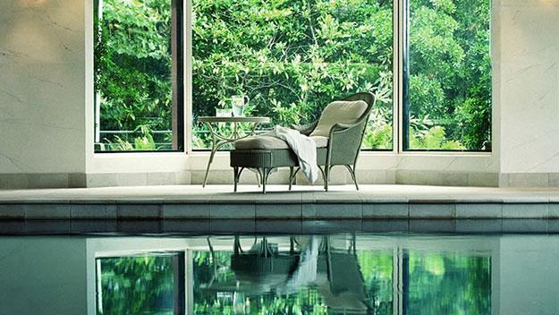 One of Lilianfels' two pools.