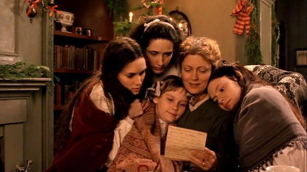 "**'Little Women' 1994:** Have the tissues handy for the tale of the four March sisters and their mother, Marmee (Susan Sarandon), all find a way to rule the house and cope while their father is away fighting in the Civil War. But when Marmee leaves to care for him, the girls must bond and grow together and become the little women their parents raised them to be while they deal with some of life's toughest tragedies. Jo: ""Now we are all family, as we always should have been."""