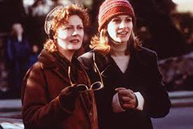 "**'Stepmom' 1998:** Stepmother's finally got a break with possibly the biggest tear-jerker of all time. Stepmom, starring Susan Sarandon and Julia Roberts, is not your typical happy story but its definitely one film that can't be missed. Jackie Harrison: ""Just because you can't see something, doesn't mean it isn't there."""