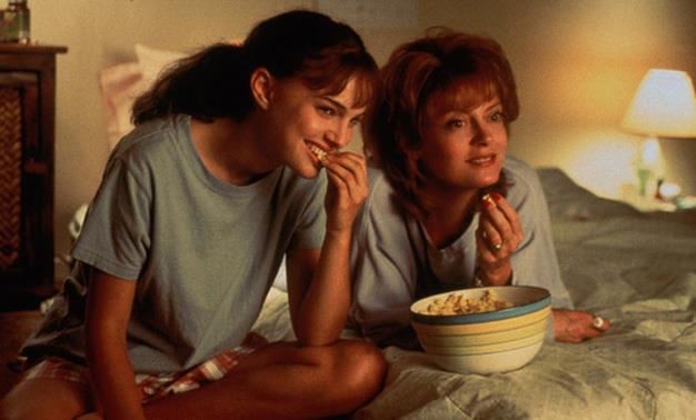 "**'Anywhere But Here' 1999:** Susan Sarandon and Natalie Portman star as a mother-daughter pair who are more different than alike. Sarandon plays a fame-starved mother whose hunger for the big lights of Hollywood threaten to derail her daughter's life forever. Annie: ""That summer I turned seventeen... and started planning my escape."""