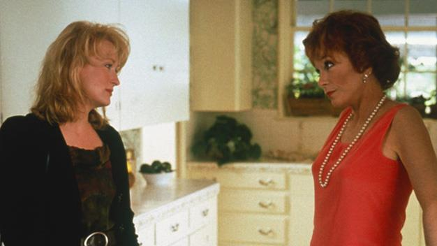 "**'Postcards From the Edge' 1990:** A story of a mother and daughter trying to mitigate their way through the perils of fame. Meryl Streep plays Carrie Fisher's alter ego, while Shirley MacLaine takes on the role of the famous mother. Doris: ""I was such an awful mother... what if you had a mother like Joan Crawford or Lana Turner?"" Suzanne: ""These are the options? You, Joan or Lana?"""