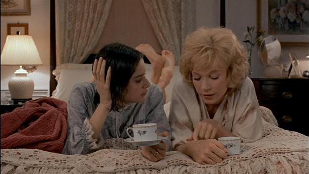 "**'Terms of Endearment' 1983:** The sob-fest between Aurora and Emma redefine that love/hate mother/daughter madness. Starring Shirley MacLaine, Debra Winger and Jack Nicholson, this tear-jerking search for lasting love is a favourite among mums and daughters. Aurora Greenway: ""Why should I be happy about being a GRANDMOTHER?"" Flap Horton: ""Does this mean you won't be knitting the baby any booties?"""