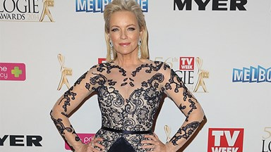 Rebecca Gibney credits mother for success