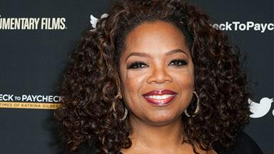 Oprah Winfrey embraces her age