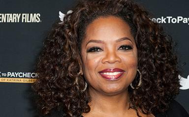 Oprah Winfrey embraces her age