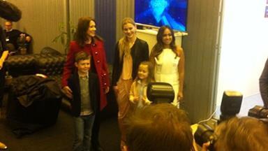 Jessica Mauboy meets Princess Mary of Denmark