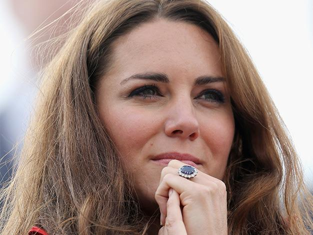 The Duchess of Cambridge started a trend with sapphire and diamond engagement rings after getting engaged to Prince William in 2010. It has been valued at £300,000.