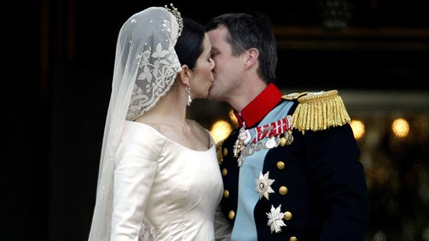 Princess Mary and Prince Frederick
