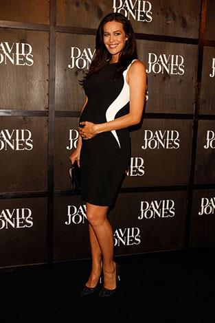 Gale at the David Jones fashion launch in April.