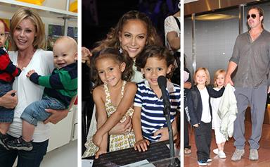Double the trouble: Celebrities with twins
