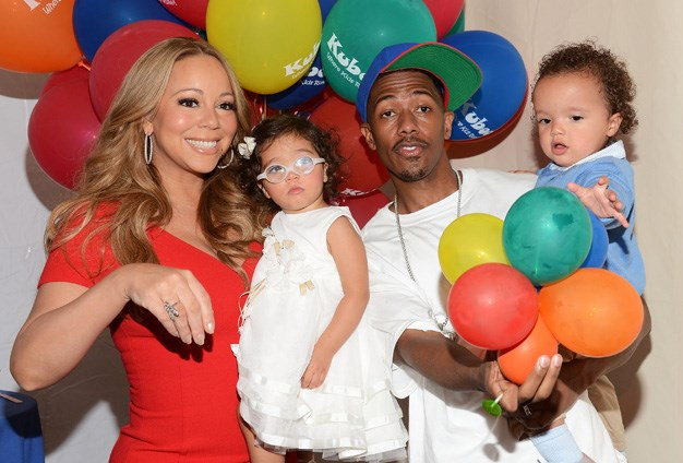 Mariah Carey and husband Nick Cannon have three-year-old twins, a girl, Monroe and son Moroccan.