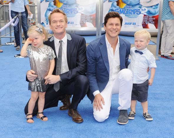 Neil Patrick Harris and partner, David Burtka had their fraternal twins, Gideon Scott and Harper Grace, via a gestational surrogate in 2010.