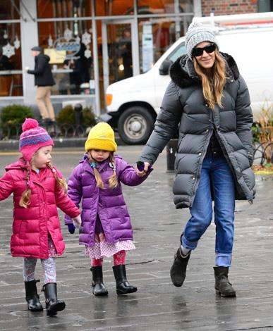 Sarah Jessica Parker and husband Matthew Broderick added twin girls, Marion and Tabitha, to their family in 2009.
