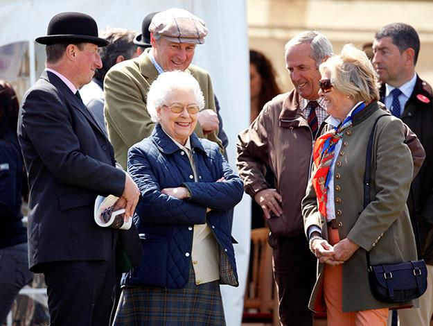 The Queen holds court at the Royal Windsor Horse Show. Photo: Indigo