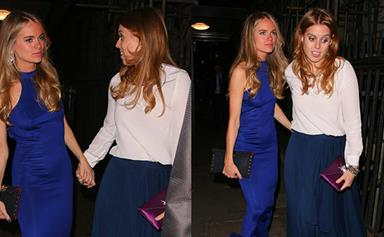 Cressida Bonas parties with Princess Beatrice and Princess Eugenie