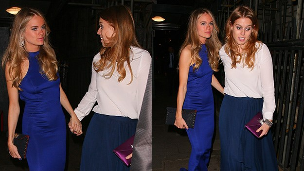 Cressida Bonas and Princess Beatrice