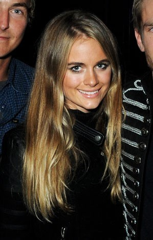Cressida at a club launch last November.