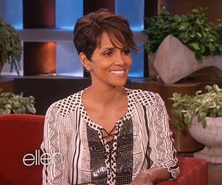 Halle Berry on the Ellen show