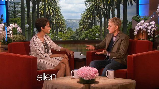 Halle Berry and Ellen Degeneres