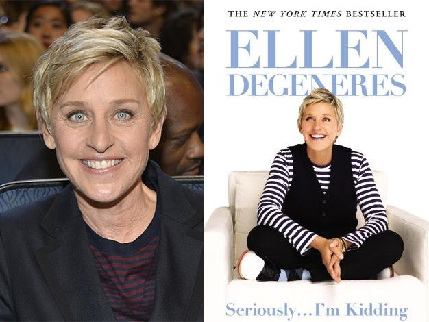 """The talk show host released her book """"Seriously...I'm Kidding"""" and it became a best-seller."""