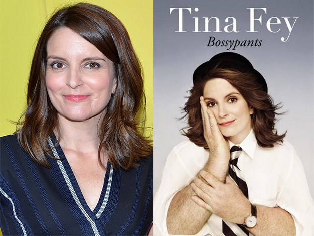 """""""Bossypants"""" is an autobiographical comedy book written by actress and comedian Tina Fey. The book topped The New York Times Best Seller list."""