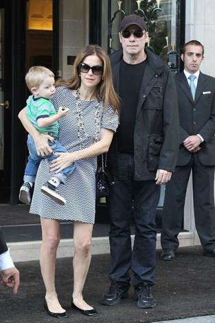 Kelly Preston and John Travolta welcomed their third child Benjamin into the world in 2010 when Kelly was 48.