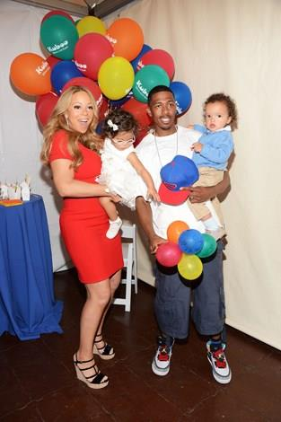 Mariah Carey and husband Nick Cannon welcomed twins Moroccan and Monroe in April 2011 when she was 41.