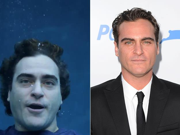 Joaquin Phoenix was raised as a vegan and is an ambassador for PETA. Last year he starred in a PETA commercial urging people to relate to the suffering we cause fish when they're taken from the water and die by suffocation in which Phoenix simulated drowning.