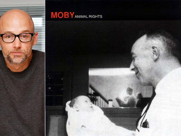 Legendary dance musician Moby has been consistently vocal about his vegan beliefs, even naming his 1996 album Animal Rights and opening a vegan café called TeaNY in New York.