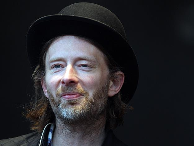 "Radiohead's Thom Yorke is known as an environmental and animal rights activist but he admits he stopped eating meat for a different reason: ""I started going out with this girl and I wanted to impress her so I pretended I'd been vegetarian all along..."""