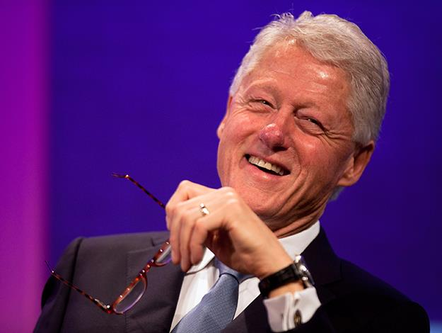 Bill Clinton was named PETA's Person of 2010 after he began promoting the benefits of vegan eating. He changed his own habits for health reasons and thanks to the plant-based diet, has lost a lot of weight.