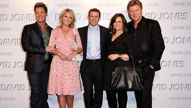 Richard Reid, Georgie Gardner, Karl Stefanovic, Lisa Wilkinson and Richard Wilkins in 2010.