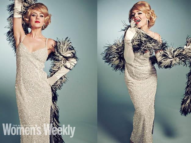 Jessica Marais poses at Carlotta for The Weekly's photoshoot. Photography by Liz Ham. Styling by Mattie Cronan. Hair and makeup by Chris Coonrod and Deborah Lanser.