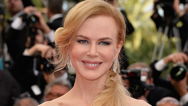 Nicole Kidman at the Grace of Monaco premiere in Cannes.