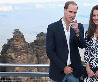 Prince William and Kate Middleton Blue Mountains