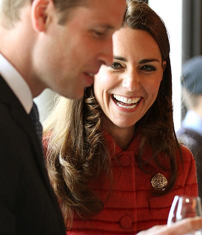 """What was that one?"" William asked as Kate handed him her glass. ""The snow... the girly one,"" she laughed."